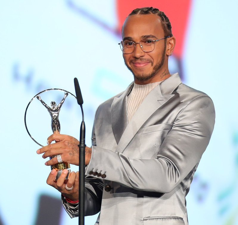 Lewis Hamilton And Lionel Messi Win Laureus Sportsman Of The Year Award
