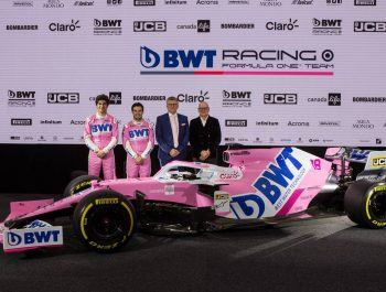 Racing Point happy to splash more pink with new BWT deal