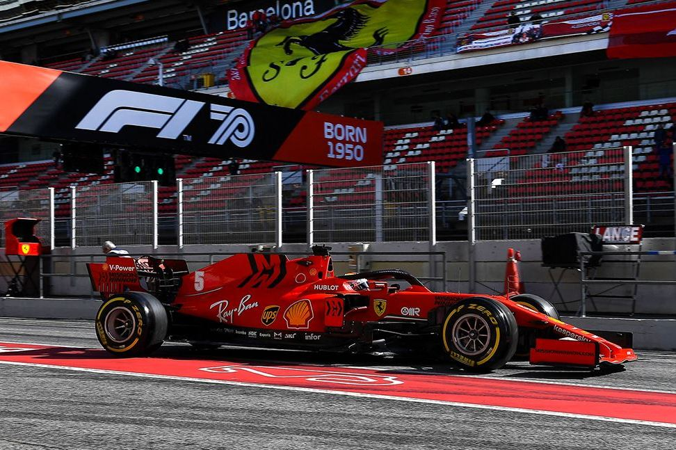 Vettel: Downforce gains have led to 'draggy' SF1000 - F1i.com