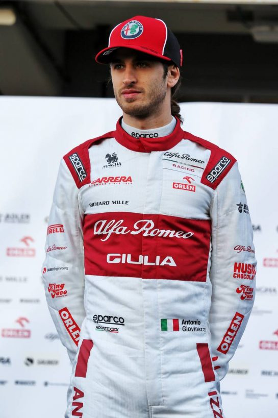Antonio Giovinazzi (ITA) Alfa Romeo Racing. 19.02.2020. Formula One Testing, Day One, Barcelona, Spain. Wednesday. - www.xpbimages.com, EMail: requests@xpbimages.com © Copyright: Batchelor / XPB Images