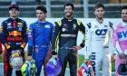 Daniel Ricciardo (AUS) Renault F1 Team at a drivers group photograph.