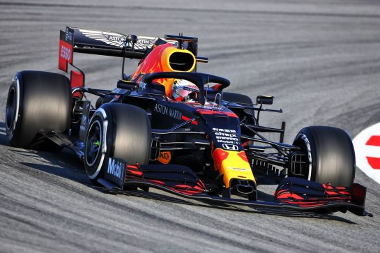 Max Verstappen (NLD) Red Bull Racing RB16. 19.02.2020. Formula One Testing, Day One, Barcelona, Spain. Wednesday. - www.xpbimages.com, EMail: requests@xpbimages.com © Copyright: Charniaux / XPB Images
