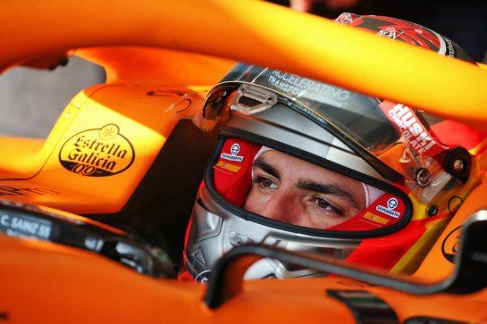 Carlos Sainz Jr (ESP) McLaren MCL35. 19.02.2020. Formula One Testing, Day One, Barcelona, Spain. Wednesday. - www.xpbimages.com, EMail: requests@xpbimages.com © Copyright: Batchelor / XPB Images