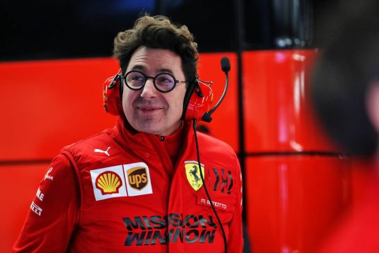 Mattia Binotto (ITA) Ferrari Team Principal. 19.02.2020. Formula One Testing, Day One, Barcelona, Spain. Wednesday. - www.xpbimages.com, EMail: requests@xpbimages.com © Copyright: Batchelor / XPB Images