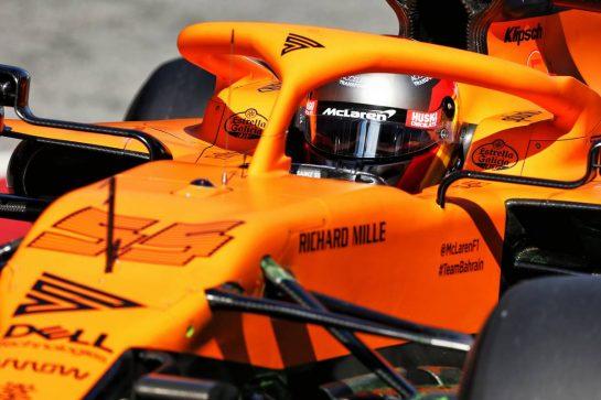 Carlos Sainz Jr (ESP) McLaren MCL35. 19.02.2020. Formula One Testing, Day One, Barcelona, Spain. Wednesday. - www.xpbimages.com, EMail: requests@xpbimages.com © Copyright: Moy / XPB Images