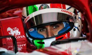 Giovinazzi laments lack of Italians on F1 grid