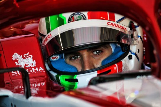Antonio Giovinazzi (ITA) Alfa Romeo Racing C39. 19.02.2020. Formula One Testing, Day One, Barcelona, Spain. Wednesday. - www.xpbimages.com, EMail: requests@xpbimages.com © Copyright: Batchelor / XPB Images