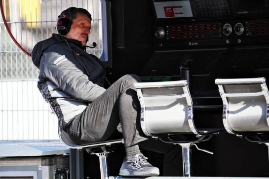 Guenther Steiner (ITA) Haas F1 Team Prinicipal. 19.02.2020. Formula One Testing, Day One, Barcelona, Spain. Wednesday. - www.xpbimages.com, EMail: requests@xpbimages.com © Copyright: Batchelor / XPB Images