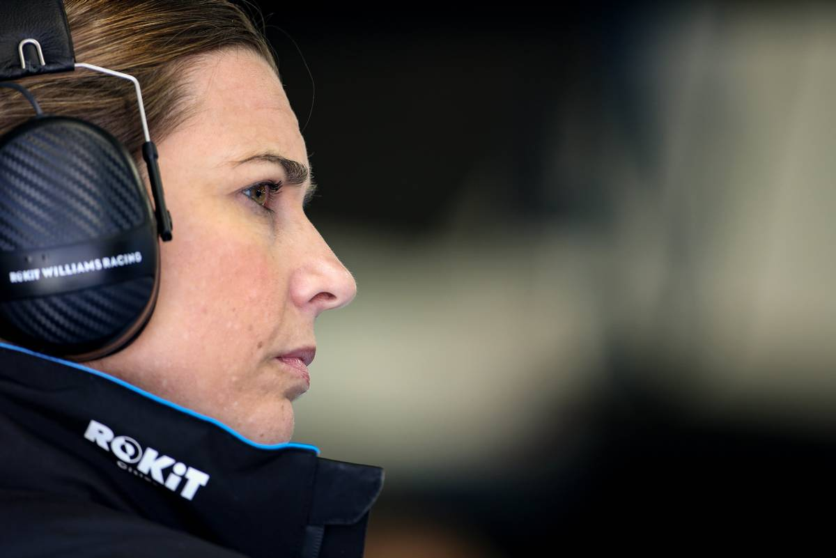 Claire Williams pays tribute to 'instrumental role' played by mother Ginny