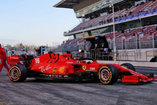 Charles Leclerc (MON) Ferrari SF1000. 20.02.2020. Formula One Testing, Day Two, Barcelona, Spain. Thursday. - www.xpbimages.com, EMail: requests@xpbimages.com © Copyright: Batchelor / XPB Images