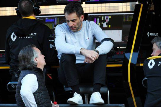 Cyril Abiteboul (FRA) Renault Sport F1 Managing Director. 20.02.2020. Formula One Testing, Day Two, Barcelona, Spain. Thursday. - www.xpbimages.com, EMail: requests@xpbimages.com © Copyright: Batchelor / XPB Images