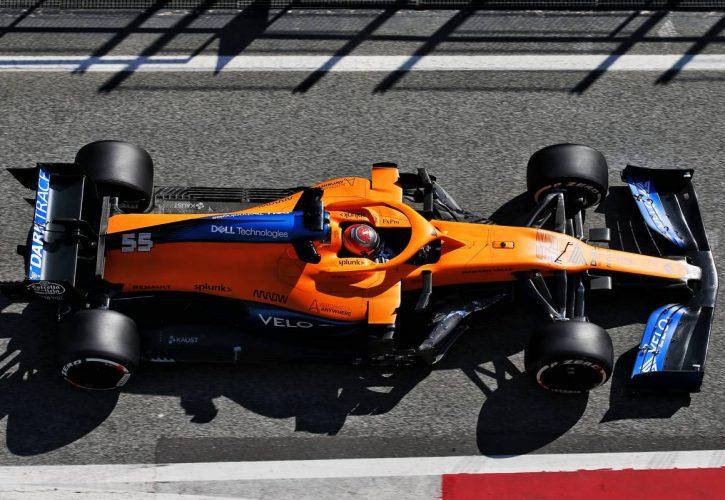 Carlos Sainz Jr (ESP) McLaren MCL35. 21.02.2020.