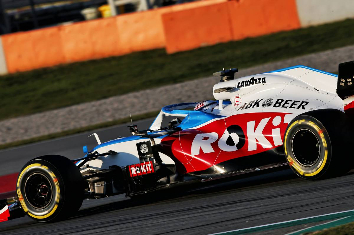 Nicholas Latifi (CDN) Williams Racing FW43.