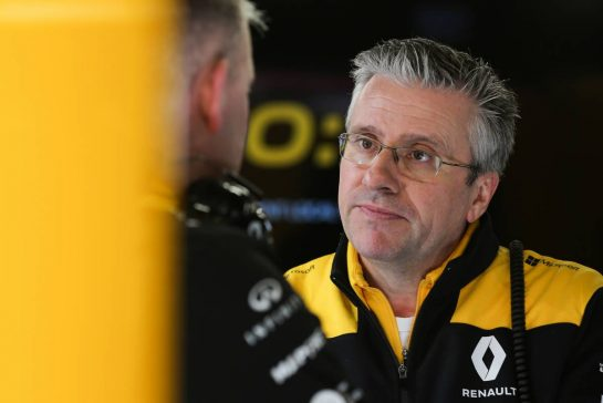 Pat Fry (GBR), Renault Sport F1 Team, Technical Director 26.02.2020. Formula One Testing, Day One, Barcelona, Spain. Wednesday. - www.xpbimages.com, EMail: requests@xpbimages.com © Copyright: Charniaux / XPB Images