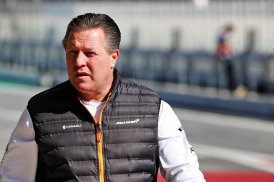 Zak Brown (USA) McLaren Executive Director. 26.02.2020. Formula One Testing, Day One, Barcelona, Spain. Wednesday. - www.xpbimages.com, EMail: requests@xpbimages.com © Copyright: Batchelor / XPB Images