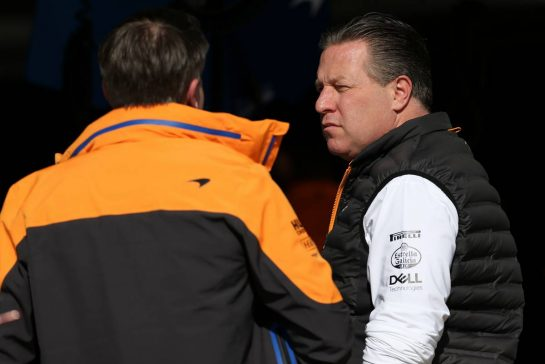 Zak Brown (USA), McLaren F1 Team Executive Director 28.02.2020. Formula One Testing, Day Three, Barcelona, Spain. Friday. - www.xpbimages.com, EMail: requests@xpbimages.com © Copyright: Charniaux / XPB Images