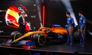McLaren boys Sainz and Norris like what they see in the MCL35
