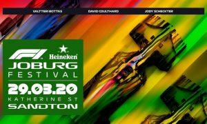 Joburg F1 Fan Festival formally postponed
