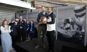 Prince Harry officially opens new Silverstone museum