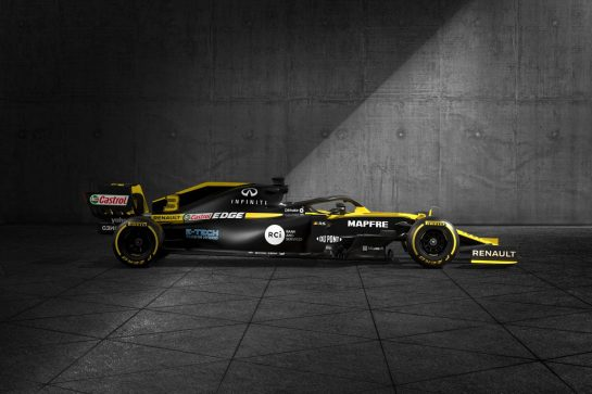 Renault F1 Team RS20 - livery reveal. 11.03.2020. Formula 1 World Championship, Rd 1, Australian Grand Prix, Albert Park, Melbourne, Australia, Preparation Day. - www.xpbimages.com, EMail: requests@xpbimages.com © Copyright: Moy / XPB Images