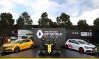 Esteban Ocon (FRA) Renault F1 Team and Daniel Ricciardo (AUS) Renault F1 Team - livery reveal. Australian Grand Prix, Wednesday 11th March 2020. Albert Park, Melbourne, Australia.