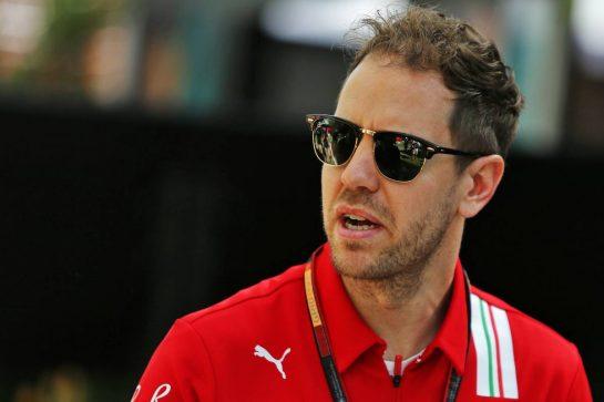 Sebastian Vettel (GER) Ferrari. 12.03.2020. Formula 1 World Championship, Rd 1, Australian Grand Prix, Albert Park, Melbourne, Australia, Preparation Day. - www.xpbimages.com, EMail: requests@xpbimages.com © Copyright: Moy / XPB Images