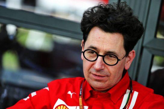 Mattia Binotto (ITA) Ferrari Team Principal. 12.03.2020. Formula 1 World Championship, Rd 1, Australian Grand Prix, Albert Park, Melbourne, Australia, Preparation Day. - www.xpbimages.com, EMail: requests@xpbimages.com © Copyright: Batchelor / XPB Images