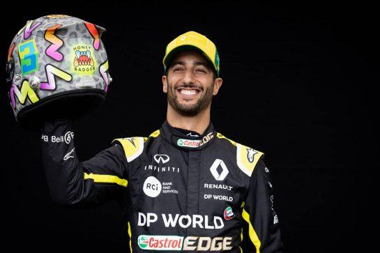 Daniel Ricciardo (AUS) Renault F1 Team. 12.03.2020. Formula 1 World Championship, Rd 1, Australian Grand Prix, Albert Park, Melbourne, Australia, Preparation Day. - www.xpbimages.com, EMail: requests@xpbimages.com © Copyright: Bearne / XPB Images