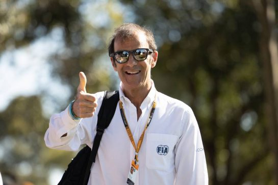 Emanuele Pirro (ITA) FIA Steward. 12.03.2020. Formula 1 World Championship, Rd 1, Australian Grand Prix, Albert Park, Melbourne, Australia, Preparation Day. - www.xpbimages.com, EMail: requests@xpbimages.com © Copyright: Bearne / XPB Images