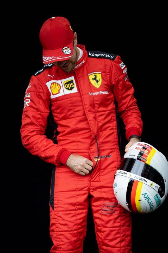 Sebastian Vettel (GER) Ferrari. 12.03.2020. Formula 1 World Championship, Rd 1, Australian Grand Prix, Albert Park, Melbourne, Australia, Preparation Day. - www.xpbimages.com, EMail: requests@xpbimages.com © Copyright: Bearne / XPB Images
