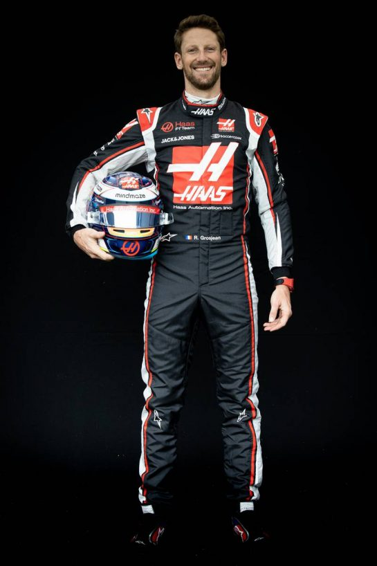 Romain Grosjean (FRA) Haas F1 Team. 12.03.2020. Formula 1 World Championship, Rd 1, Australian Grand Prix, Albert Park, Melbourne, Australia, Preparation Day. - www.xpbimages.com, EMail: requests@xpbimages.com © Copyright: Bearne / XPB Images