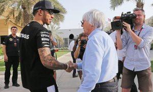 'Ferrari would go behind Hamilton's back' - Ecclestone