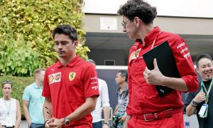 Binotto delighted with Leclerc's involvement in 'important' Esports