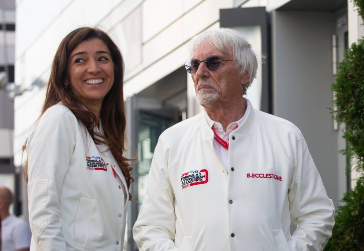 Ecclestone become father for the fourth time at the age of 89