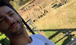 Ricciardo reports from the outback as 'Sir Daniel Attenborough'