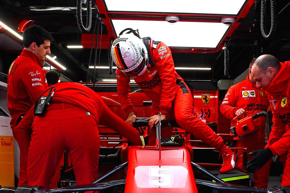 Vettel: Happiness, not money, key to new Ferrari F1 deal