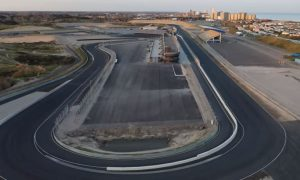 Take an aerial trip around the new and improved Zandvoort