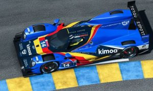Alonso and Barrichello complete Virtual Le Mans entry list