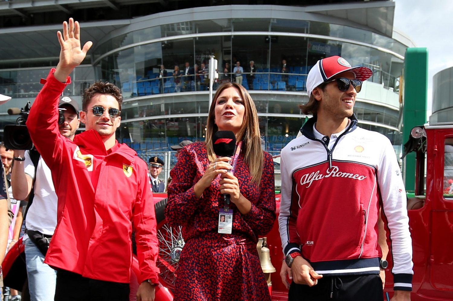 Image result for leclerc giovinazzi
