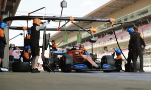 McLaren unable to test with old-spec car ahead of first race