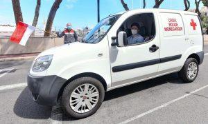 Leclerc speeds up Monaco Red Cross coronavirus logistics