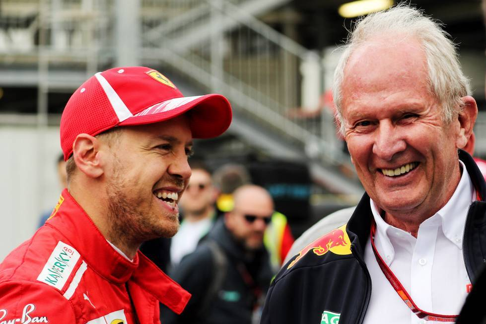 Marko only sees two options for Vettel in the future - F1i.com