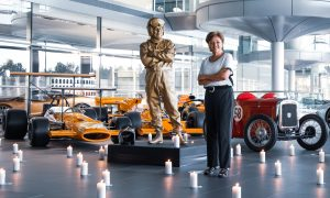 Bruce McLaren remembered at Woking 50 years on