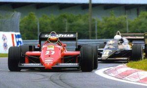 Alboreto steers Ferrari #27 to a win in Canada