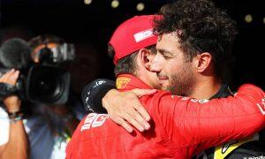 Leclerc and Ricciardo respond to Hamilton criticism