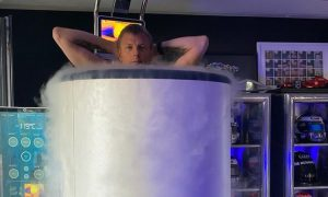 Kimi the Iceman chills at a cool -119°C!
