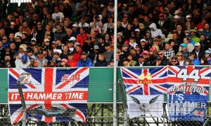 Silverstone boss 'up for' filling stands with cardboard fans!