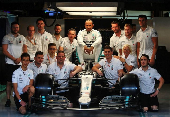 Hamilton critical of F1 community silence over racial protests