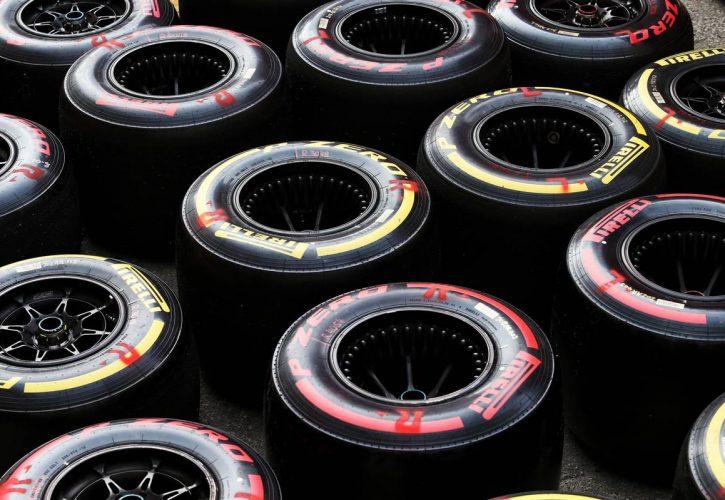 Pirelli tyres. 28.02.2020. Formula One Testing