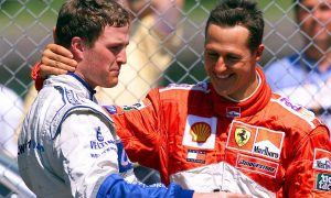 When brothers in arms celebrated a historic F1 milestone